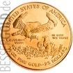 Zlatá mince 1/2 oz (trojské unce) AMERICAN EAGLE USA