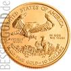 Zlatá mince 1/4 oz (trojské unce) AMERICAN EAGLE USA