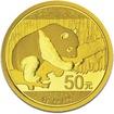 Zlatá mince 3g PANDA Čína 2016