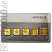 Zlatý slitek 5 x1g Multicard HERAEUS (Německo)