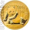 Zlatá mince 1 oz (trojská unce) PANDA Čína