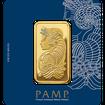 Zlatý slitek 100g PAMP Fortuna (Švýcarsko)