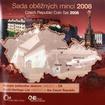 Sada oběžných mincí ČR  - Unesco 2008 Standard
