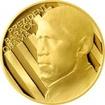 Zlatá půluncová medaile Barack Obama 2009 Proof