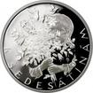 Stříbrná medaile k životnímu jubileu 60 let Proof