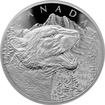 Stříbrná mince 500g Growling Cougar 2015 Proof (.9999)