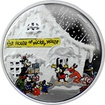 Stříbrná mince The House of Mickey Mouse 1 Oz Disney 2015 Proof