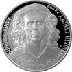 Stříbrná mince 2 NZD Karel Poborský 2016 Proof