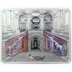 Stříbrná mince Zámek Caserta Grand Interiors 2015 Mramor Antique Standard