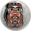 Stříbrná mince 5 Oz Medvěd Mythical Realms of the Haida 2016 Proof (.9999)