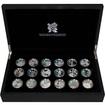 Celebration of Britain London Olympics 2012 Sada stříbrných mincí 2009-2010 Proof