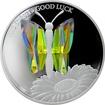 Stříbrná mince 5 NZD Crystal Coin - Pro štěstí 2016 Proof