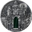 Stříbrná mince 1 Kg Angkor Wat Ultra high relief 2016 Antique Standard