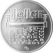 Stříbrná mince 200 Kč Založení Sdružení českých umělců grafiků Hollar 2017 Standard