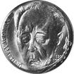 Stříbrná mince 100 Kčs Bohuslav Martinů 100. výročí narození 1990