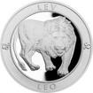 Stříbrná medaile Znamení zvěrokruhu s věnováním - Lev 2017 Proof