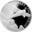 Stříbrná mince Století létání - Charles Lindbergh 2017 Proof