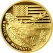 Zlatá mince Válečný rok 1942 - Bitva u Midway 2017 Proof