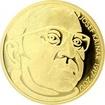 Zlatá půluncová medaile Josef Kainar 2017 Proof