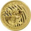 Zlatá investiční mince Elk 1 Oz 2017 (.99999)