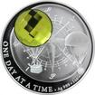 Stříbrná mince Crystal Coin - One Day at a Time - Sahara 2017 Proof