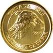 Zlatá investiční mince White Falcon 1/4 Oz 2016