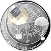Stříbrná mince Crystal Coin - One Day at a Time - Honey 2017 Proof