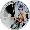 Stříbrná mince 60. výročí korunovace Elizabeth II. 2013 Proof