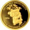 Zlatá mince My little investment - Panda 2016 Proof