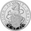 Stříbrná mince Unicorn of Scotland 5 Oz 2017 Proof
