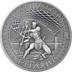 Stříbrná mince Gladiators 2 Oz Retiarius 2017 Antique Standard