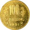 Zlatá mince 100 Šilink 1931