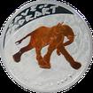 Stříbrná mince Jeskyně Tadrart Slon 2011 Proof Niue