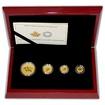 Maple Leaf Sada zlatých mincí 2015 Proof
