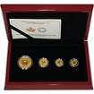 Maple Leaf A Historic Reign Sada zlatých mincí 2016 Proof