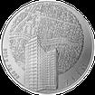 Stříbrná investiční medaile 500 g Statutární města ČR - Zlín 2012 Standard