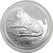 Stříbrná investiční mince Year of the Tiger Rok Tygra Lunární 2 Oz 2010