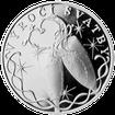 Stříbrná medaile k výročí svatby s věnováním 2012 Proof