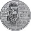 Stříbrná mince 200 Kč Bedřich Hrozný rozluštil chetitštinu 100. výročí 2015 Standard