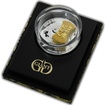 Stříbrná mince Gold Gram Giant 2014 Proof