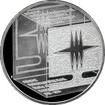Stříbrná mince 200 Kč Založení SUŠ v Kamenickém Šenově 150. výročí 2006 Proof