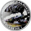 Stříbrná mince kolorovaný VR Class HR 1 History of Railroads 2011 Proof