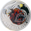 Stříbrná mince Deep Sea Fish Ďasové 2010 Proof Pitcairn Islands
