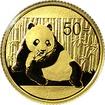 Zlatá investiční mince Panda 1/10 Oz