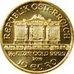 Zlatá investiční mince Wiener Philharmoniker 1/10 Oz