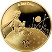 Zlatá mince Malý princ: Důležité je neviditelné 1/4 Oz 2015 Proof
