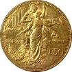 Zlatá mince 50 Lira Viktor Emanuel III. 1911
