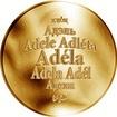 Česká jména - Adéla - zlatá medaile