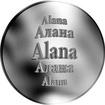 Slovenská jména - Alana - stříbrná medaile