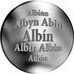 Slovenská jména - Albín - stříbrná medaile